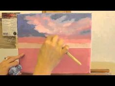 Scumbling Painting Technique Using Acrylic - YouTube