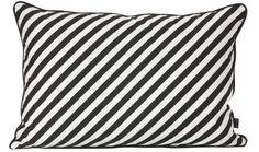 Kissen - Black Stripe