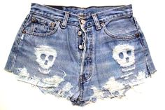 I could SO do this with my jean shorts.