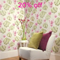 Wallpaper Sale 20% off. EXTENDED UNTIL FEB 4TH!