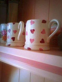 Pink hearts! - Emma Bridgewater pottery