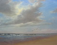 Seascape. 40-50 cm. Oil.