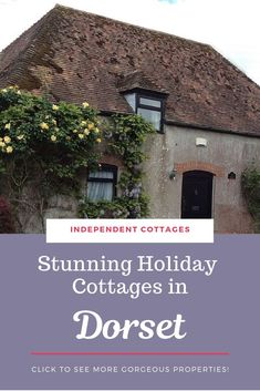 Over 51 independently owned self catering holiday cottages in Dorset. Book with the cottage owner direct at Independent Cottages. Uk Holidays, Luxury Holidays, Independent Cottages, Dorset Cottages, Holiday Cottages Uk, Dorset Holiday, Character Cottages, Dorset England, Cheap Holiday