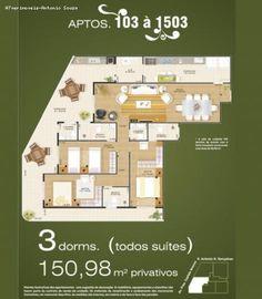 Apartamento para Venda, Praia Grande / SP, bairro Vila Caiçara, 3 dormitórios, 3…
