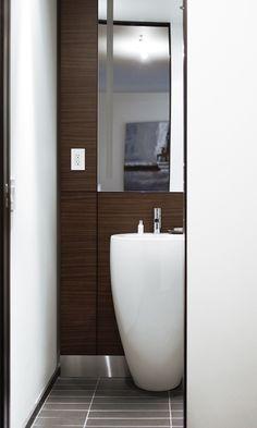 Le Germain Residences and Hôtel Le Germain, Calgary, Canada | LAUFEN Bathrooms www.laufen.com  .#hotel #design #bathroom