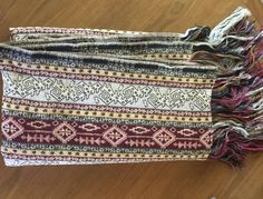 """Handwoven Vintage Blanket Textile: Cover, Light Rug, or Drape, 80"""" x 52"""", Beautiful, Jewel Toned, Functional, tapestry, wall hanging by TheHuntIsOn on Etsy"""