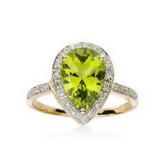 Peridot Rings for Women