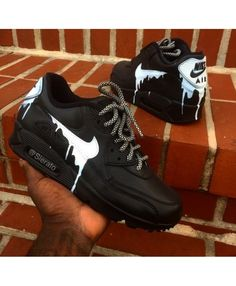 finest selection d8fb3 8af70 54 Best Nike air max 90 candy drip images | Nike boots, Custom made ...