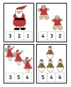 Preschool Printables: Christmas