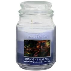 I'm learning all about Patriot Candles Midnight Garden Jar Candle at @Influenster!