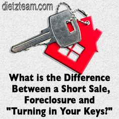 What is the Difference Between a Short Sale, Foreclosure and