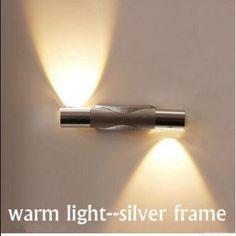 AGPtek® 2W LED Wall Light High Power LED Up Down Wall Lamp Spot Light Sconce Lighting Bed Lamp Mirror Light (White): Amazon.ca: Tools & Home Improvement
