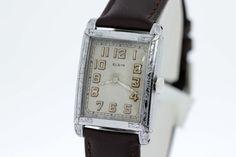 Elgin 1930s Wrist Watch by timekeepersinclayton on Etsy
