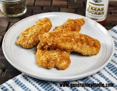Paleo Chicken Fingers Ingredients 1lb boneless, skinless chicken breasts 1 cup almond meal 1 tbsp paprika ½ tsp garlic powder 1 tsp cumin 1 tsp cayenne pepper 1 tsp black pepper 1 tsp sea salt 2 eggs, lightly beaten olive oil cooking spray