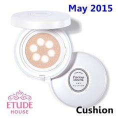 [ Etudehouse ] Precious Mineral Any Cushion Pearl Aura SPF50+ PA+++ 15g(New2015), Korean Best Cosmetics, Free Shipping