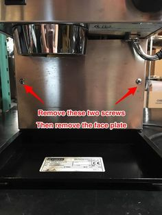 Below are photo instructions for cleaning the Valve in a Rancilio Silvia. This is useful if the release valve isn't releasing water. Phillips Screwdriver, Drip Tray, Kitchen Aid Mixer, Cleaning, Plates, Food And Drinks, Licence Plates, Dishes