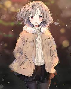 Kawaii Chibi, Kawaii Anime Girl, Anime Art Girl, Anime Girls, Chica Anime Manga, Anime Neko, Manga Girl, Pretty Anime Girl, Beautiful Anime Girl