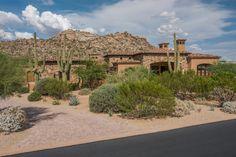 Residential Desert Landscape Exterior