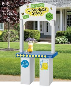 Perfect for carnival party as either a lemonade stand or ticket booth