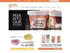Ice cream e-commerce web design inspiration: http://www.jenis.com/