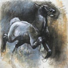 "Saatchi Art Artist Benedicte Gele; Drawing, ""Panic From Jean Edouard Detaille"" #art"