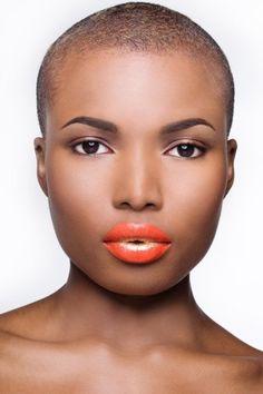 neilalvin: Photo by Sherene Mcnichol - loving the lipstick too Big Chop, Natural Hair Cuts, Natural Hair Styles, Natural Beauty, Makes You Beautiful, Black Is Beautiful, Beautiful Women, Short Hair Cuts, Short Hair Styles