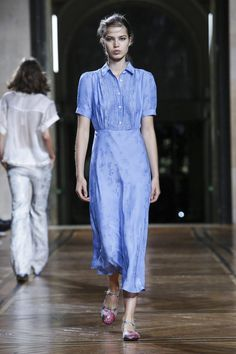 Possibly the perfect spring summer dress from Paul & Joe #ss18 #pfw
