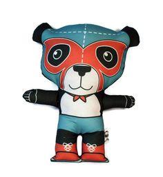 El Panda Luchamal Plush Doll by StudioLongoria on Etsy, $19.99
