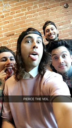 Pierce The Veil.>>>> Jaime's face omg!!!!