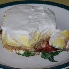 Triple Layer Banana Cream Pie Bars on BigOven: