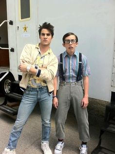 Blaine and Artie