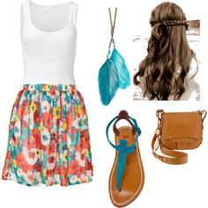 """Summer nights"" love this outfit"