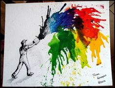 Crayon art                                                                                                                                                      More