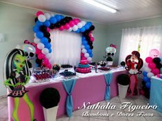 Festa Monster High/Monster High Party