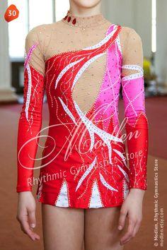 Rhythmische Sportgymnastik Anzug 30 von Modlen auf Etsy, $129,99