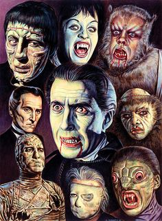Iconic Hammer Horror...