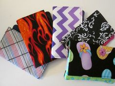 Designer Wallets for Women Set of 5 Bride's Maid by EyeCandyQuilts, $57.50
