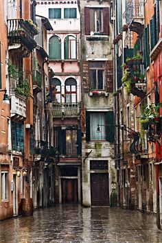 Venice: We have already been, but I can't imagine a life where I don't get to go again.  I love Venice!