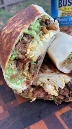 Breakfast Dishes, Breakfast Burrito Recipes, Brunch Recipes, Breakfast Burritos, Summer Grilling Recipes, Fire Cooking, Campfire Food, Pinto Beans, Food Cravings