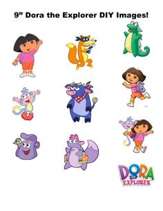 Dora and friends! 3rd Birthday Parties, 4th Birthday, Birthday Ideas, Dora Boots, Dora Diego, Dora And Friends, Dora The Explorer, Happy 4 Of July, Party Themes