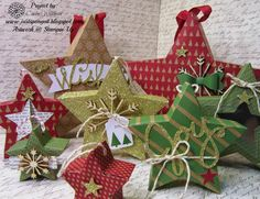 Just Sponge It: Many Merry Stars Simply Created Kit Christmas Inspiration, Christmas Ideas, Christmas Decorations, Christmas Ornaments, Holiday Decor, Stampin Up Many Merry Stars, Group Projects, Holiday 2014, Stampin Up Catalog