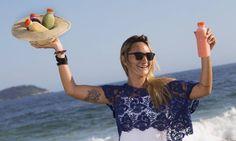 Nova geração de vendedores ambulantes muda a cara da comida de praia do Rio