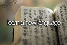 bucket list bujo Spanish and Chinese were always spoken around me growing up but I never picked up neither language. :( I would really love to learn at least one fluently before I kick the bucket. Bucket List Tumblr, Bucket List Life, Adventure Bucket List, Summer Bucket List For Teens, Teenage Bucket Lists, How To Speak Mandarin, Bucket List Before I Die, Learn Hebrew, Learn A New Language