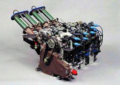 en Mazda 787B Wankel Engine (1991).