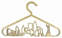 The most expensive hangers in the world aren't just pricey—they're made specifically for those who are tuned in to the world of fashion. These Cityscape Coat Hangers are made from high quality birch plywood and feature a water-based finish to make sure they last. The original Cityscape hangers depict five of the world's top fashion and design meccas—London, New York, Paris, Tokyo and Milan.These luxury coat hangers are priced at $460