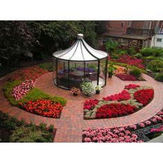 Pavillon Rondo VP - ab 3,31m - Die Gartenlösung von Hoklartherm