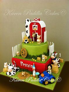 Farm Cake — Children's Birthday Cakes