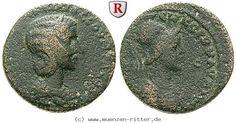 RITTER Kilikien, Aigeai, Otacilia Severa, Athena #coins