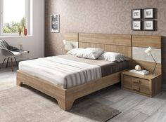 Dormitorio moderno (168 – D11) - Muebles CASANOVA