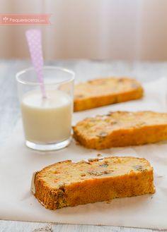 El bizcocho de zanahoria es una receta original que sorprende. Si buscáis recetas de bizcochos, no dudéis en probar el bizcocho de zanahoria. Os encantará